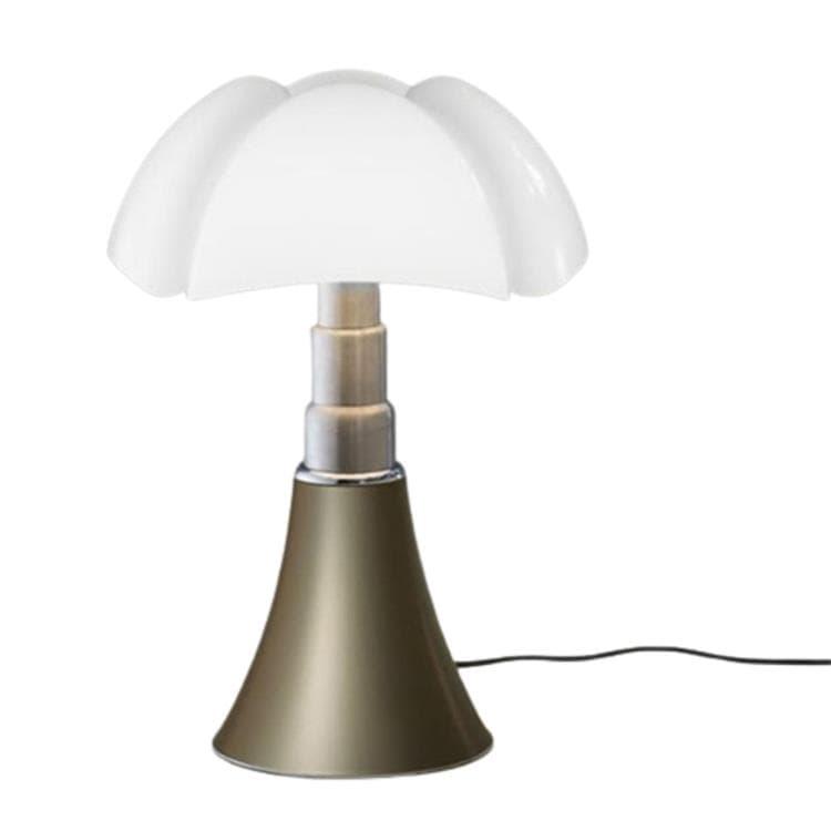 PIPISTRELLO Sable Doré Lampe ampoules LED pied télescopique H66-86cm