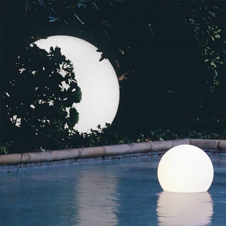 ACQUAGLOBO Blanc Lampe flottante d'extérieur Ø70cm