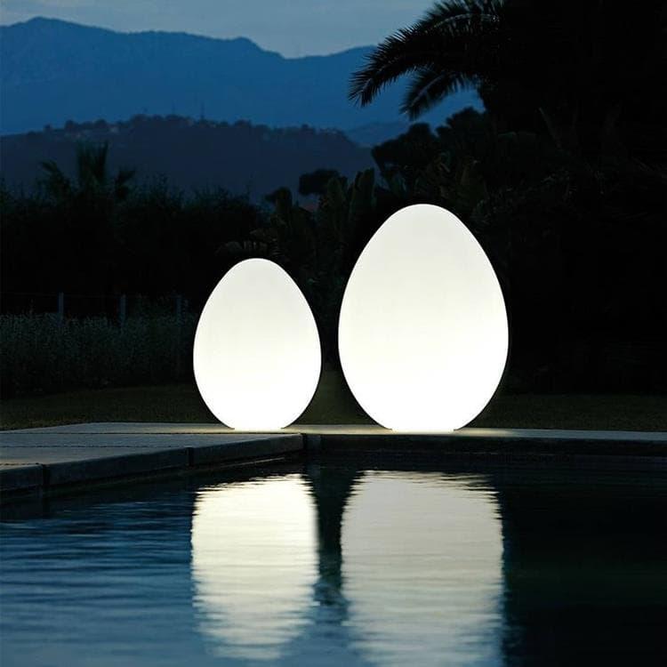 DINO Blanc Lampe d'extérieur H120cm