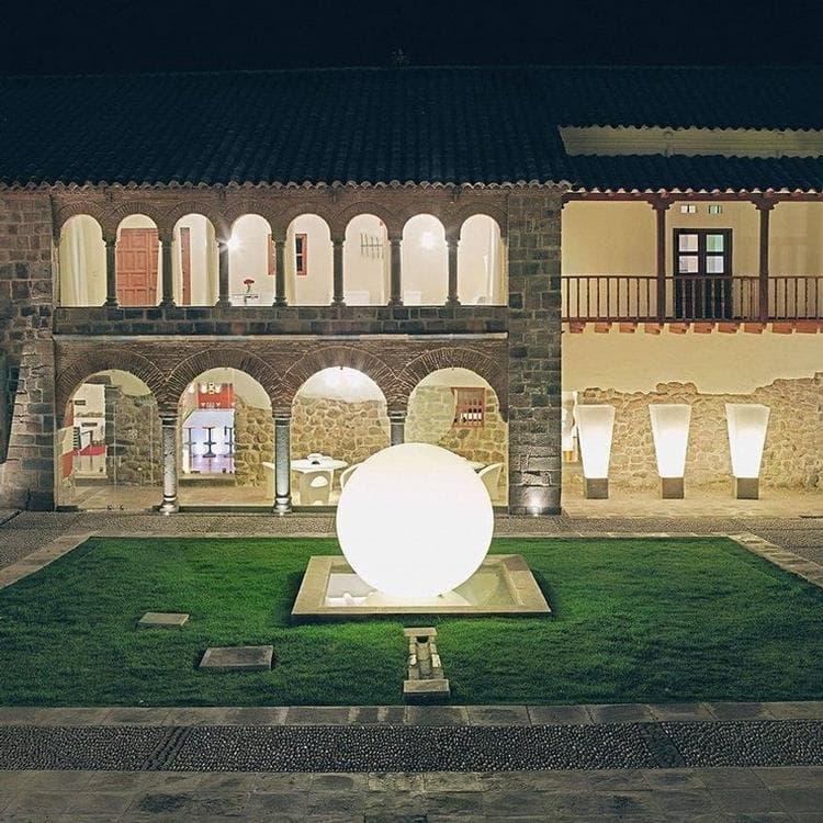 GLOBO OUT Blanc Lampe de sol d'extérieur Ø120cm