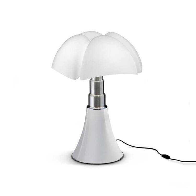 MINI PIPISTRELLO Blanc Lampe à poser LED H35cm