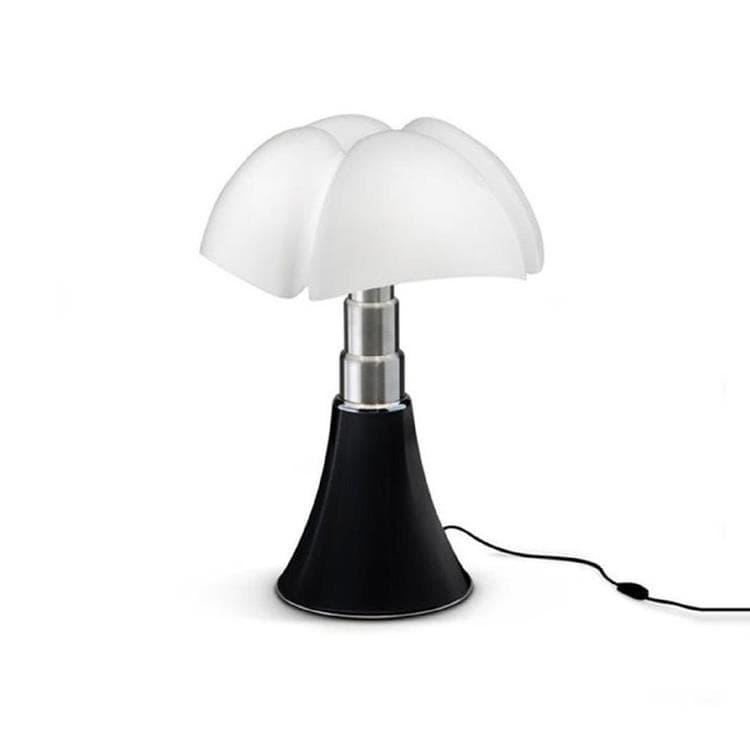 MINI PIPISTRELLO Noir Mat Lampe à poser LED H35cm