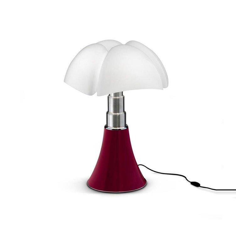 MINI PIPISTRELLO Rouge Lampe à poser LED H35cm