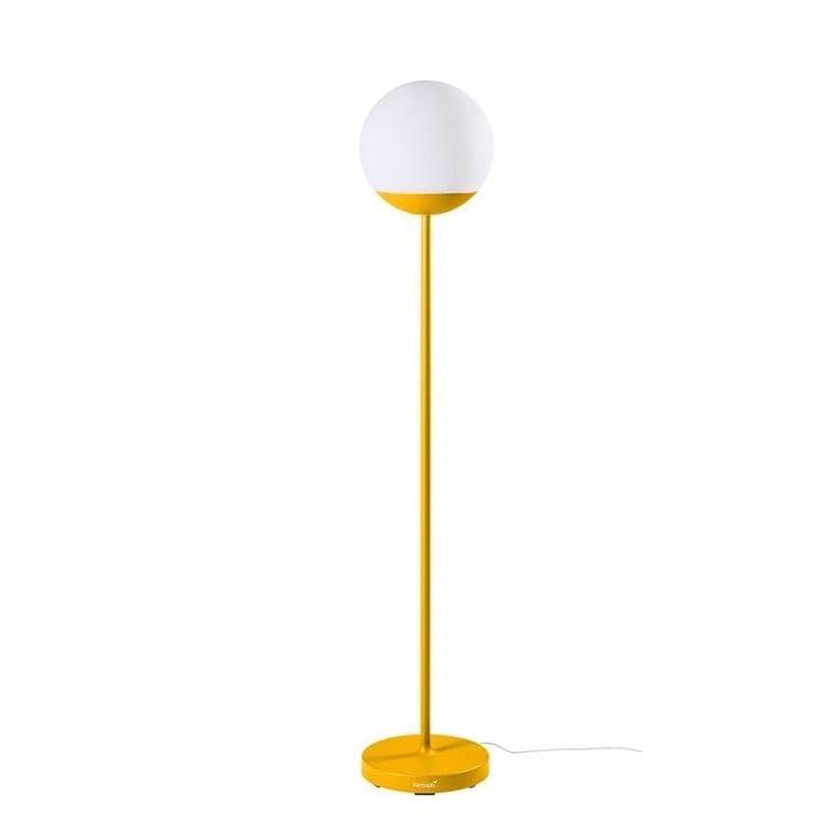 MOOON! miel Lampadaire d'extérieur LED H134cm sans fil avec bluetooth