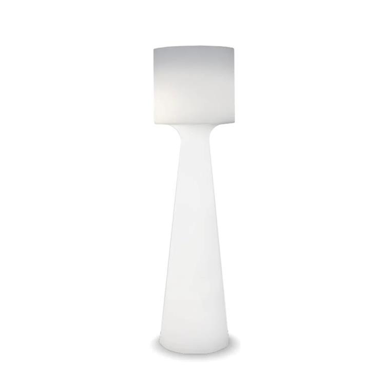 GRACE Blanc Lampadaire d'extérieur LED avec câble H170cm