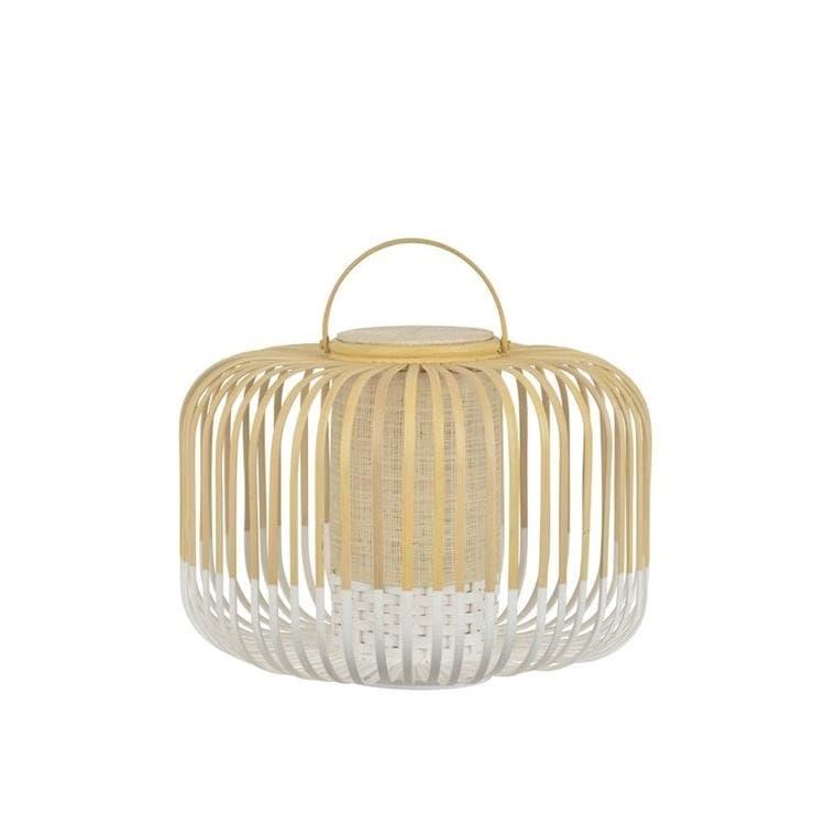 TAKE A WAY S Blanc Baladeuse LED d'extérieur sans fil Bambou H35cm