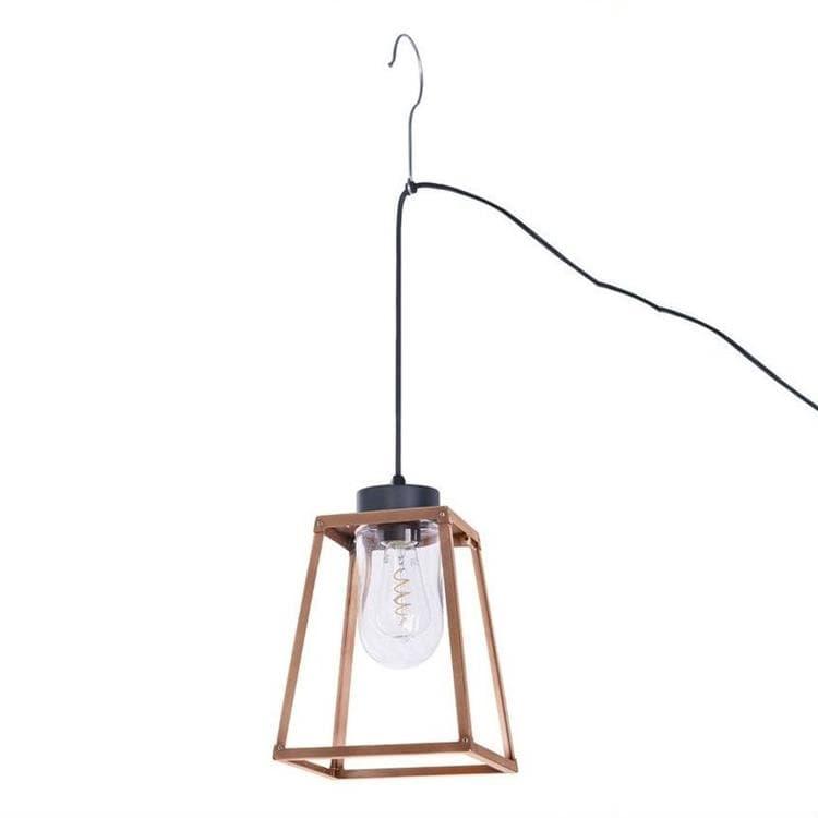 LAMPIOK Cuivre Lampe nomade d'extérieur Métal/Verre H34cm