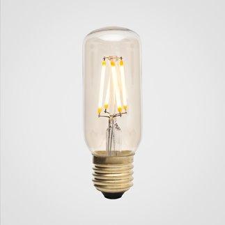 3W LURRA - Ampoule LED filament Tubulaire E27 Ø3.8cm 2200K 3W = 24W 240 Lumens Dimmable Ambrée