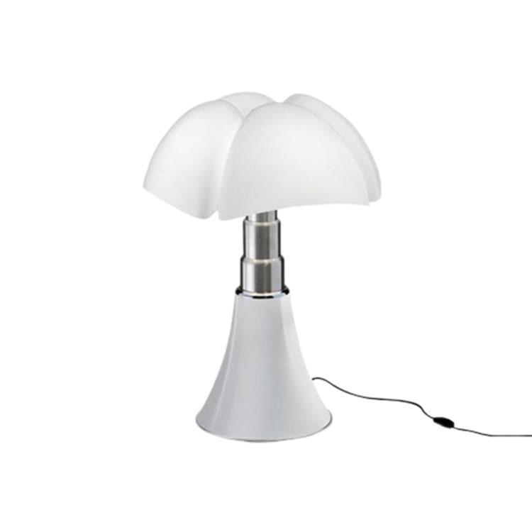 MINI PIPISTRELLO Blanc Lampe LED avec Variateur H35cm