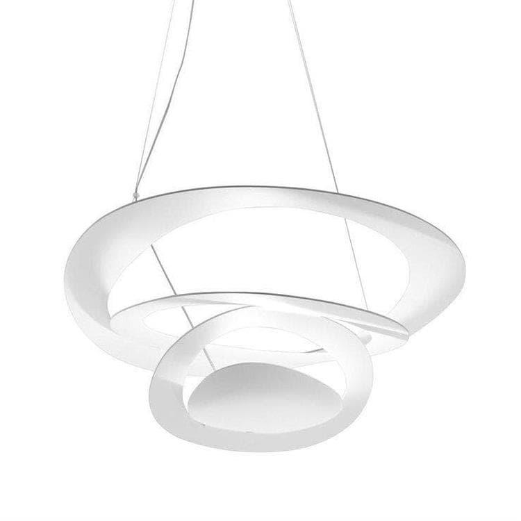 PIRCE MINI Blanc Suspension LED Ø69cm